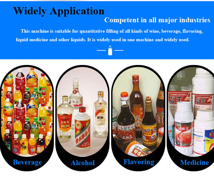 China Factory Automatic PET Bottle Soybean Oil Filling Machine Price